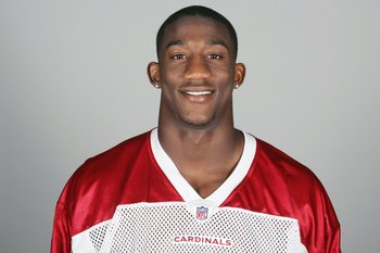 GLENDALE, AZ - 2009:  Antrel Rolle of the Arizona Cardinals poses for his 2009 NFL headshot at photo day in Glendale, Arizona.  (Photo by NFL Photos)