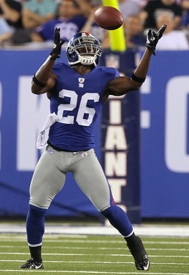 Antrel Rolle has helped the Giants improve on a suspect secondary.