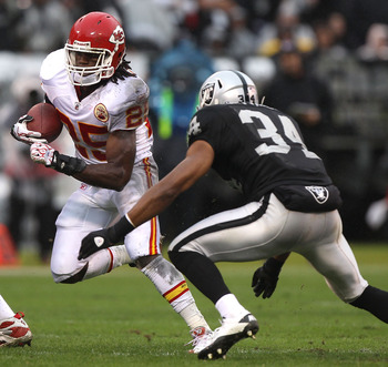 Stopping Jamaal Charles won't be easy, but doing so should lead to a Raider win.