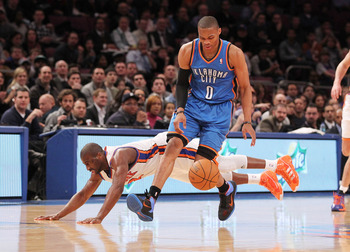 Felton still falls in comparison with the young Westbrook