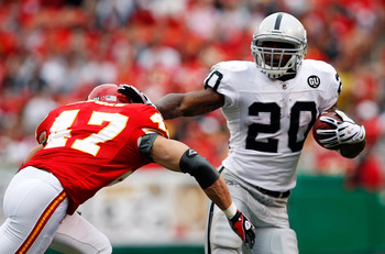Darren McFadden has broken out, but he has to continue to shine for Oakland to win this game.