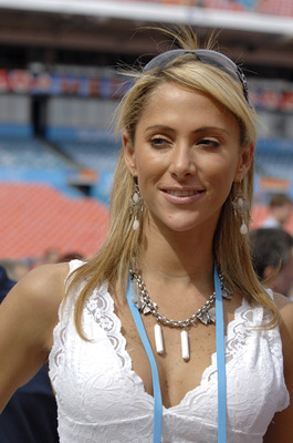 Ines Sainz of TV Azteca during Media Day prior to Super Bowl XLI at Dolphins Stadium in Miami, Florida on January 30, 2007.  (Photo by Al Messerschmidt/Getty Images)