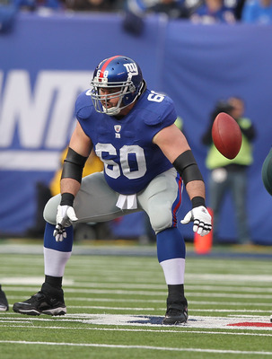 Shaun O'Hara was selected to his third Pro Bowl in three years.