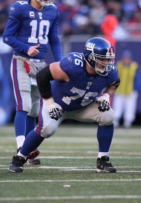 The main stay on the Giants' line has been selected to two Pro Bowls and one All-Pro team.