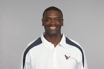 HOUSTON - 2009:  Frank Bush of the Houston Texans poses for his 2009 NFL headshot at photo day in Houston, Texas.  (Photo by NFL Photos)