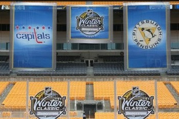 The 2011 Bridgestone Winter Classic will feature the renewed rivalry of the Capitals and Penguins on New Year's Day
