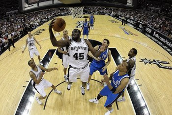 DeJuan Blair 1.7 steals per game in December makes up for the lack of blocks.