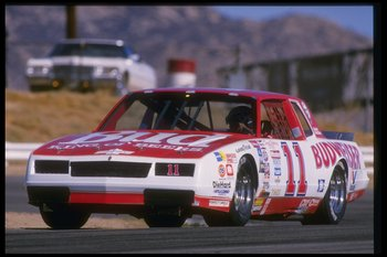 Darrell Waltrip never had the reputation as a dangerous driver but he was never afraid to show the bumper to the back markers.