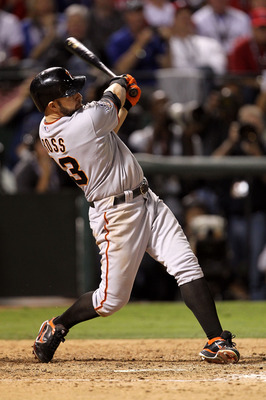 Cody Ross swinging his monster bat during the 2010 postseason.