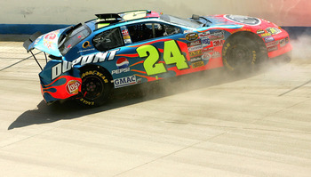 Jeff Gordon's crash at Dover ranks among the hardest impacts in modern sprint cup racing.