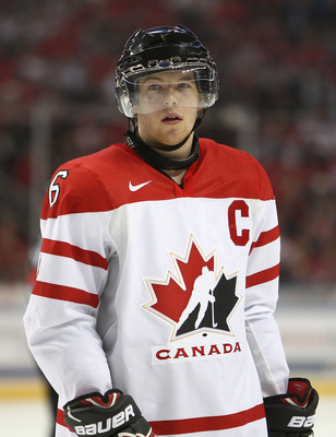 BUFFALO, NY - DECEMBER 26:  Ryan Ellis #6 of Canada during the 2011 IIHF World U20 Championship Group B game between Canada and Russia on December 26, 2010 at HSBC Arena in Buffalo, New York. (Photo by Tom Szczerbowski/Getty Images)