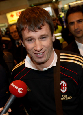 MILAN, ITALY - DECEMBER 27:  AC Milan forward Antonio Cassano is seen at Malpensa Airport before the departure for AC Milan Training Camp in Dubai  on December 27, 2010 in Milan, Italy.  (Photo by Vittorio Zunino Celotto/Getty Images)