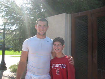 Stanford Football Quarterback Andrew Luck and I