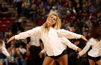 SACRAMENTO, CA - DECEMBER 11:  The Sacramento Kings dance team perform during their game against the Miami Heat at ARCO Arena on December 11, 2010 in Sacramento, California.  NOTE TO USER: User expressly acknowledges and agrees that, by downloading and or