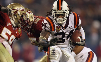 Virginia Tech has won 11 straight and playing in the Orange Bowl.