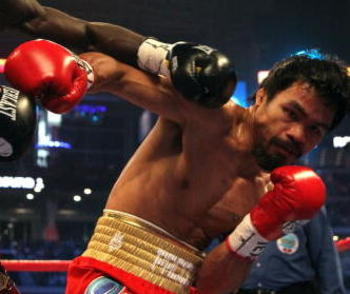 Manny Pacquiao is hittable and Mosley hits hard. If Molsey wins, Pacquiao could lose his status and Mayweather could demand whatever he wants.