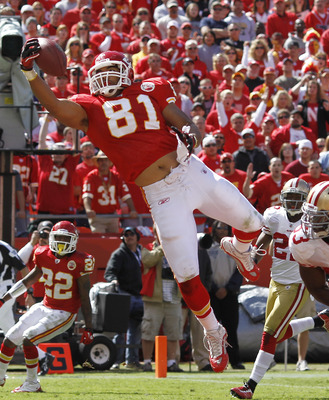 Tony Moeaki is going to be a nice replacement for the future Hall of Famer Tony Gonzalez