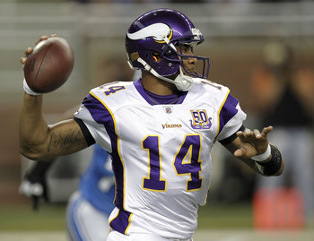 "Joe Webb is a ""Michael Vick"" type player, but not ready to shine just yet."