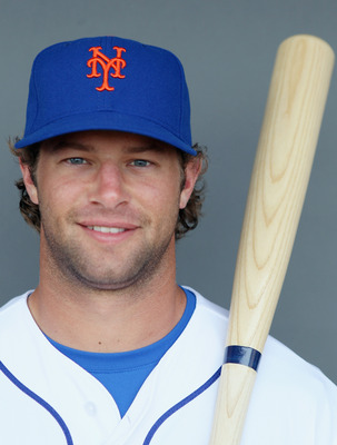 PORT ST. LUCIE, FL - FEBRUARY 24:  RY 24:  Kirk Nieuwenhuis #72 of the New York Mets poses for a portrait during the New York Mets Photo Day on February 24, 2011 at Digital Domain Park in Port St. Lucie, Florida.  (Photo by Elsa/Getty Images)