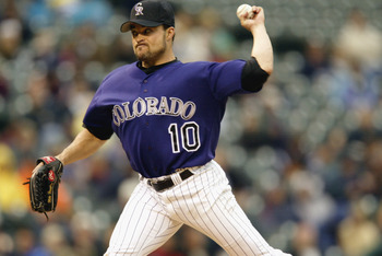 Mike Hampton (remember him?) signed an 8 year, $121 million contract with the Rockies in 2002, one of the biggest busts in recent memory