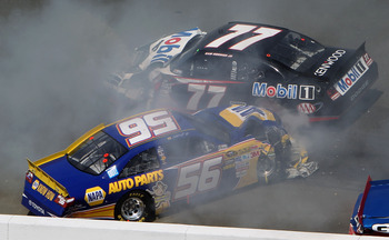Sam Hornish ability to find create crashes led to his departure from Cup.