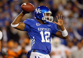 Sophomore QB Morgan Newton gets a prime opportunity to show he's the quarterback of the future at UK