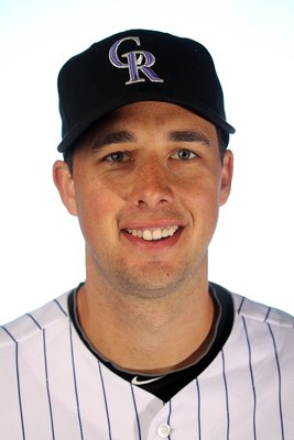 TUCSON, AZ - FEBRUARY 28:  Jeff Francis of the Colorado Rockies poses for a photo during Spring Training Media Photo Day at Hi Corbett Field on February 28, 2010 in Tucson, Arizona.  (Photo by Ronald Martinez/Getty Images)
