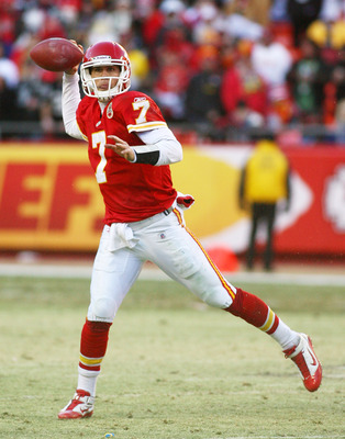 Chiefs quarterback Matt Cassel