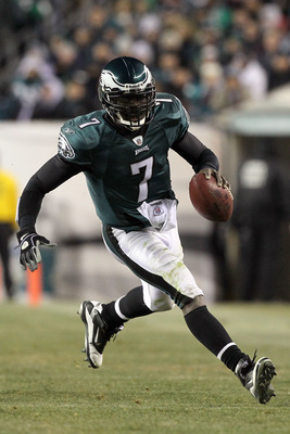 Eagles quarterback (and my MVP) Michael Vick