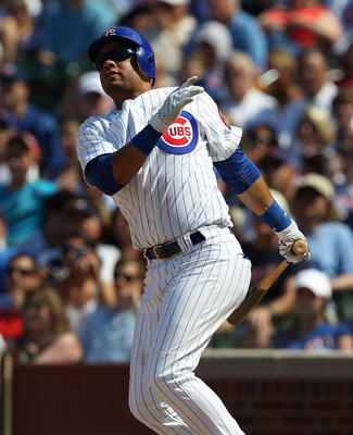 CHICAGO - JULY 21: Aramis Ramirez #16 of the Chicago Cubs takes a swing against the Houston Astros at Wrigley Field on July 21, 2010 in Chicago, Illinois. The Astros defeated the Cubs 4-3 in 12 innings. (Photo by Jonathan Daniel/Getty Images)