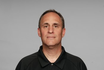 BALTIMORE - 2008:  Vic Fangio of the Baltimore Ravens poses for his 2008 NFL headshot at photo day in Baltimore, Maryland.  (Photo by Getty Images)