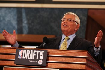 David Stern will hopefully not get the chance to call Irving's name June's draft.