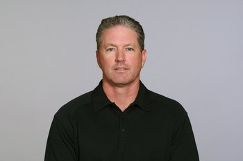 JACKSONVILLE, FL - 2009:  Dirk Koetter of the Jacksonville Jaguars poses for his 2009 NFL headshot at photo day in Jacksonville, Florida.  (Photo by NFL Photos)
