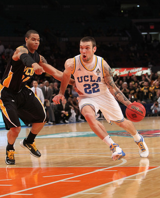 NEW YORK - NOVEMBER 26:  Reeves Nelson #22 of the UCLA Bruins drives to the basket against the Virginia Commonwealth Rams during their consolation game at Madison Square Garden on November 26, 2010 in New York City.  (Photo by Nick Laham/Getty Images)