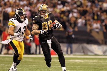 Jeremy Shockey will sub for Jimmy Graham at tight end- talk about depth!