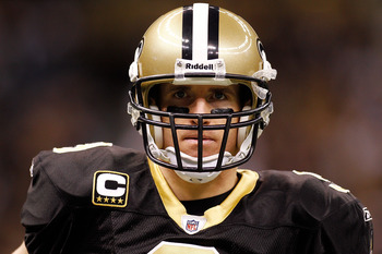 While Brees has not had one of his better years, the competitive fire still burns.