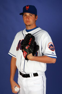 PORT ST. LUCIE, FL - FEBRUARY 27:  Pitcher Clint Everts #61 of the New York Mets poses during photo day at Tradition Field on February 27, 2010 in Port St. Lucie, Florida.  (Photo by Doug Benc/Getty Images)