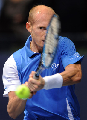 Davydenko demonstrated the form he was in about a year ago.