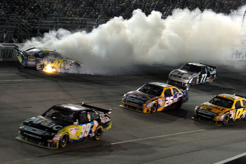 Richmond International Raceway can be exciting with the multiple race grooves and the short track style racing.