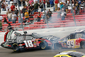 Las Vegas Motor Speedway is one of the wildest tracks on the NASCAR circuit since it was repaved.