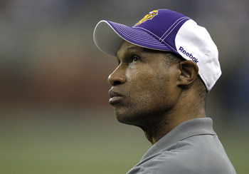Head coach Leslie Frazier will have a tough first year ahead of him