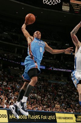 Westbrook is becoming one of the most exciting player to watch in the NBA