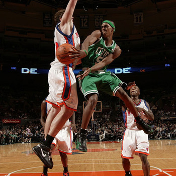 Rondo can drop dimes with the best of them.