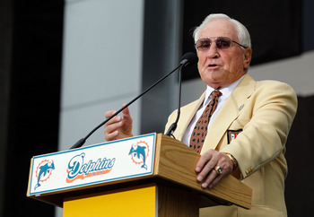 Shula is the league's winningest head coach after 33 years in the business.