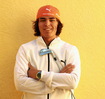 NAPLES, FL - DECEMBER 10:  PGA player Rickie Fowler poses for a portrait at the Tiburon Golf Club on December 10, 2010 in Naples, Florida.  (Photo by Scott Halleran/Getty Images)