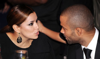 WASHINGTON - SEPTEMBER 15:  (AFP OUT) Actress Eva Longoria (L) and NBA player Tony Parker attend the Congressional Hispanic Caucus Institute's 33rd Annual Awards Gala at the Washington Convention Center September 15, 2010 in Washington, DC. President Bara