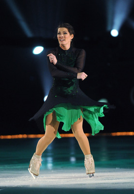 ATLANTIC CITY, NJ - DECEMBER 07:  Nancy Kerrigan skates during The Caesars Tribute on December 7, 2010 in Atlantic City, New Jersey. (Photo by Jonathan Fickies/Getty Images for Stargames)