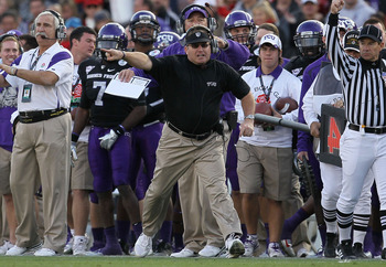 TCU and Boise will close the trilogy of the two best non-aq teams next year.