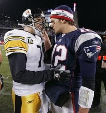Roethlisberger and Brady: Two Future Hall of Famers