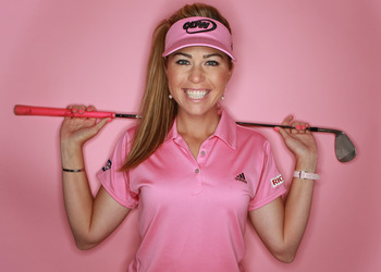 WINDERMERE, FL - DECEMBER 09:  LPGA player Paula Creamer poses for a portrait at the Isleworth Country Club on December 9, 2010 in Windermere, Florida.  (Photo by Scott Halleran/Getty Images)